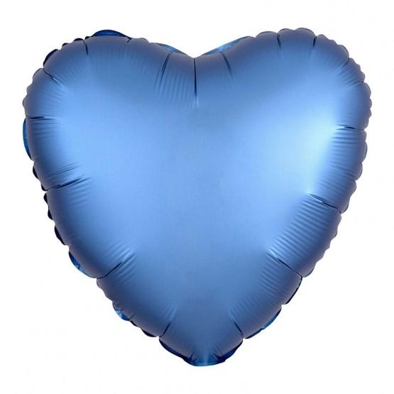 Srce metalik - 11 boja - 46cm