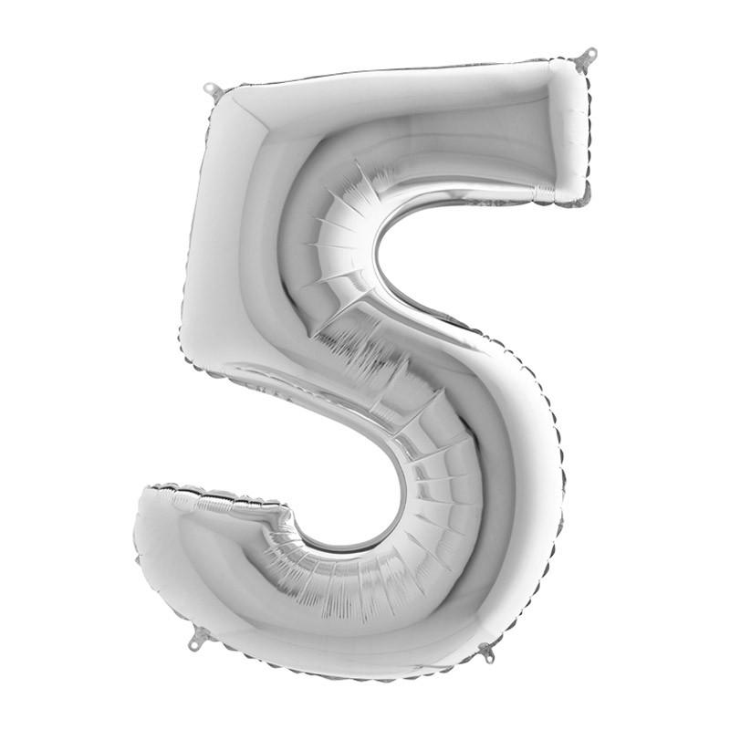 Broj 5 - 6 boja