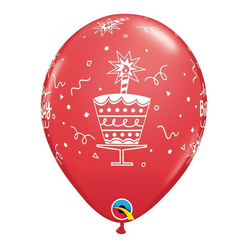 Happy birthday - 7 boja