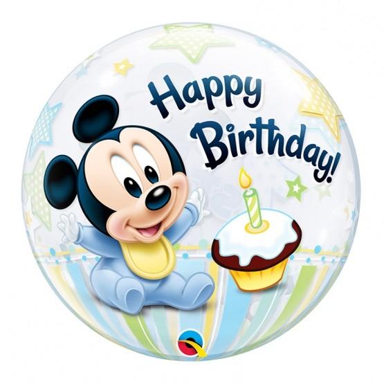 Mickey prvi rođendan - 56cm