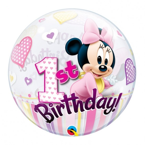 Minnie prvi rođendan - 56cm
