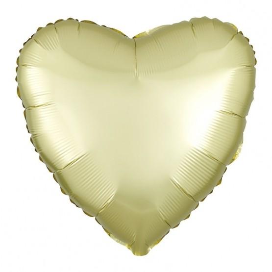Srce metalik - 14 boja - 46cm
