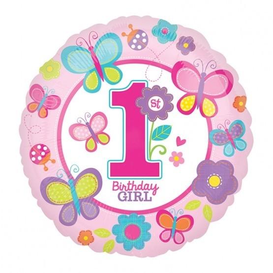 1st birthday girl - 46cm