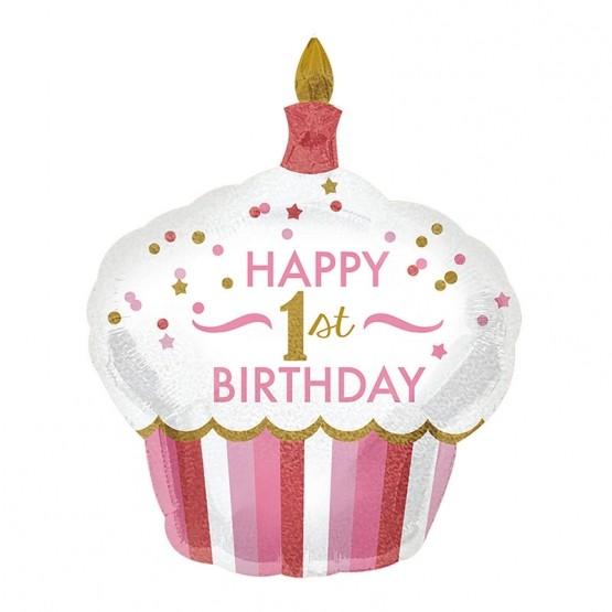 Happy 1st birthday - 91cm