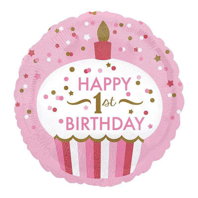 Happy 1st birthday - 46cm