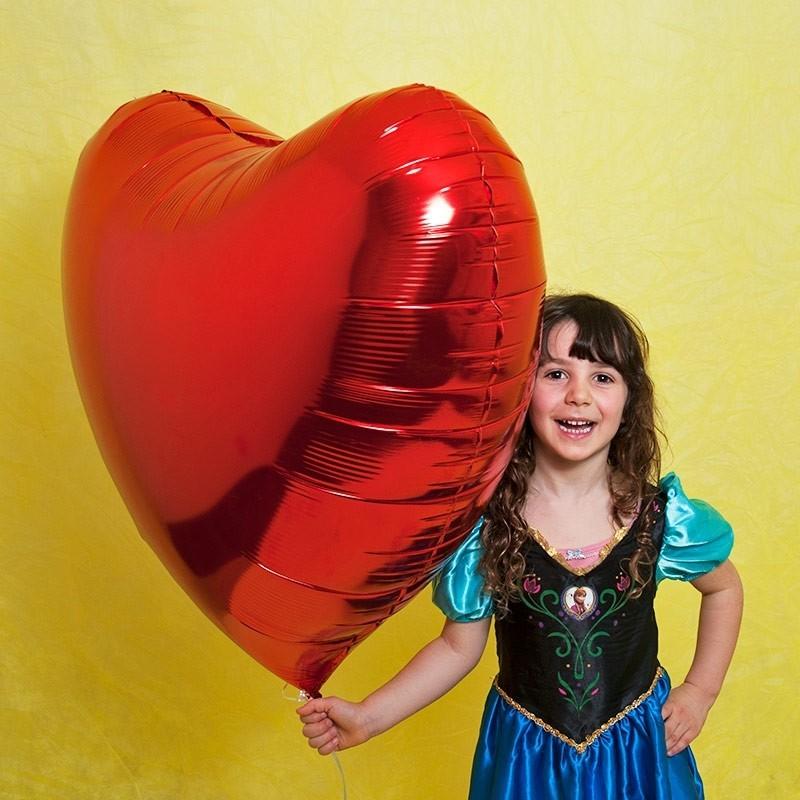 Srce - 4 boje - 91cm