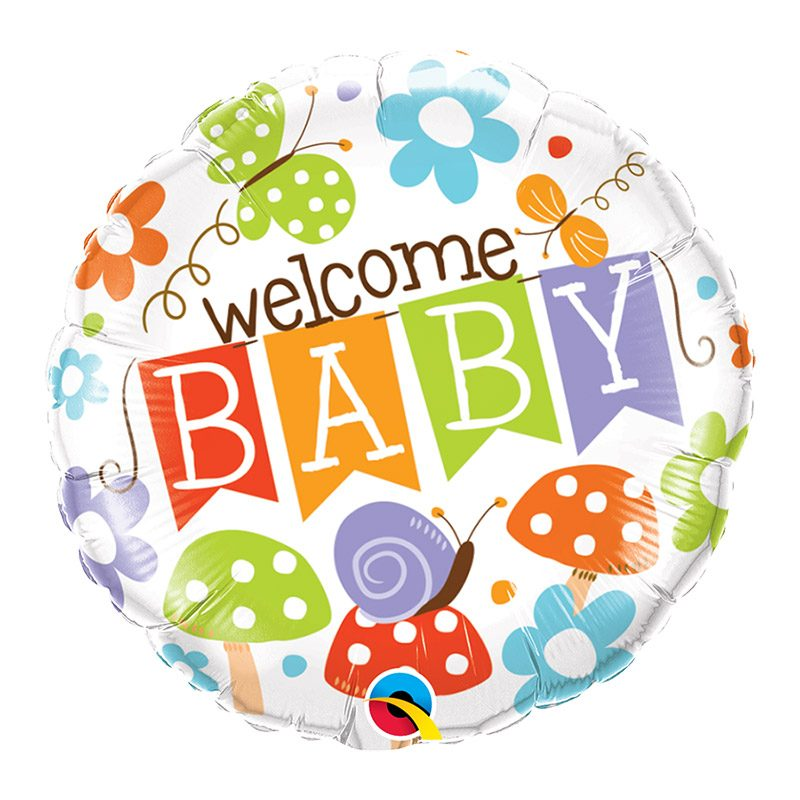 Welcome baby - 46cm