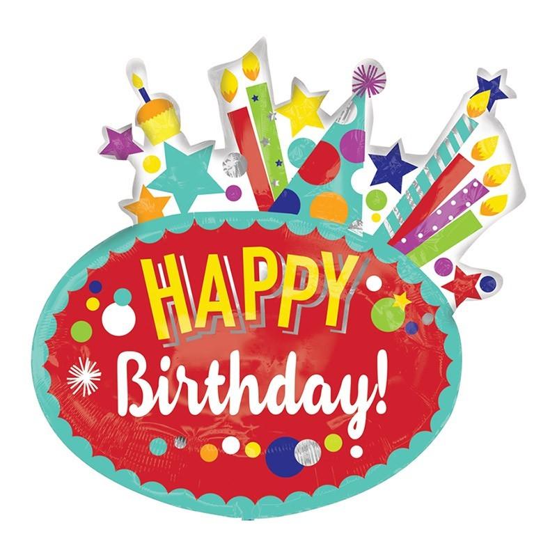 Happy Birthday - 76cm