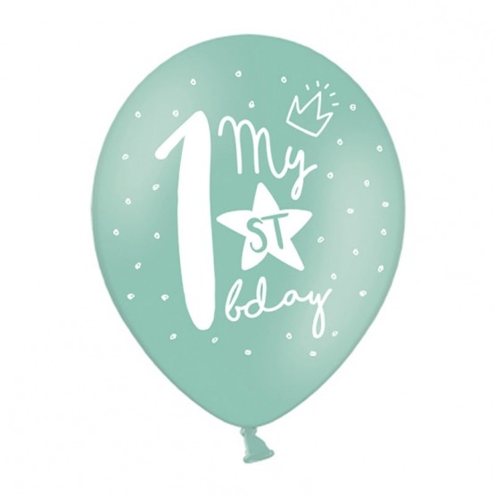 My 1st birthday - 5 boja