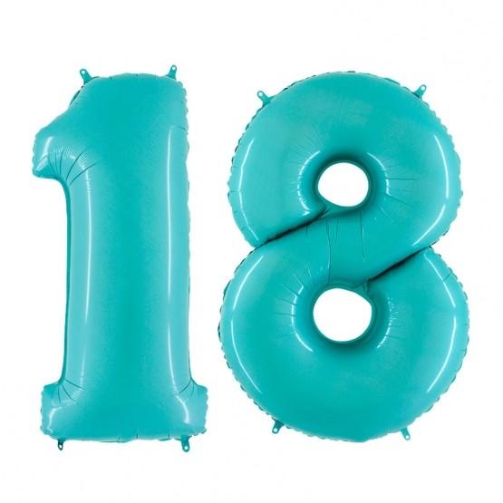 18. rođendan - tirkiz - 101cm