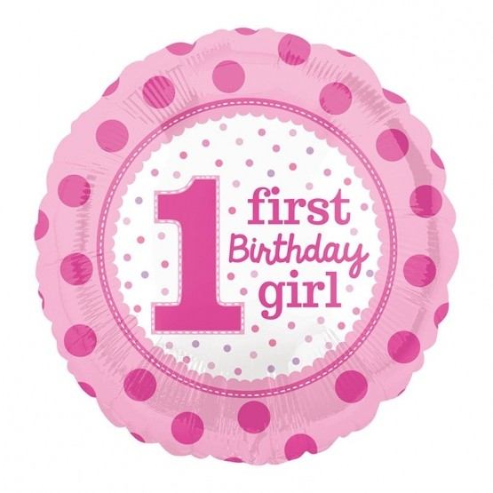 First birthday girl - 46cm