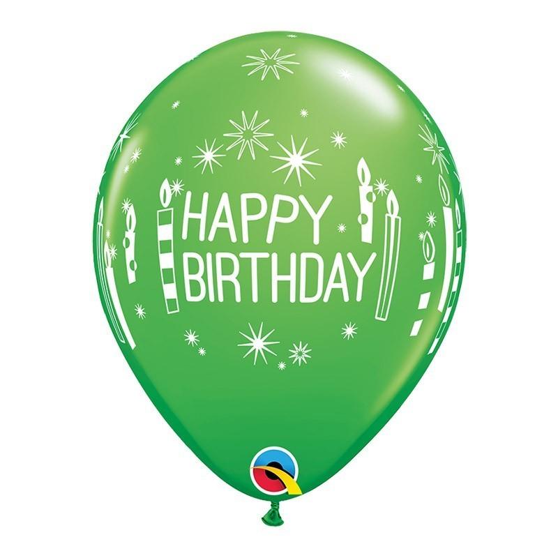 Happy birthday - 6 boja