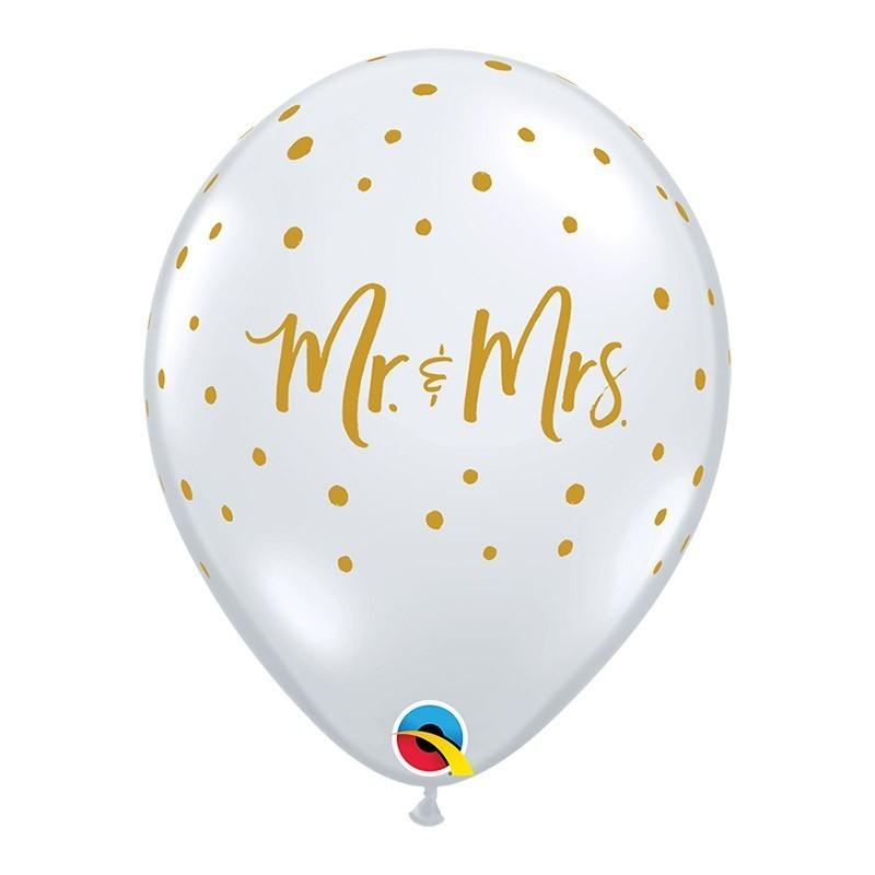 Providan balon Mr & Mrs - 28cm