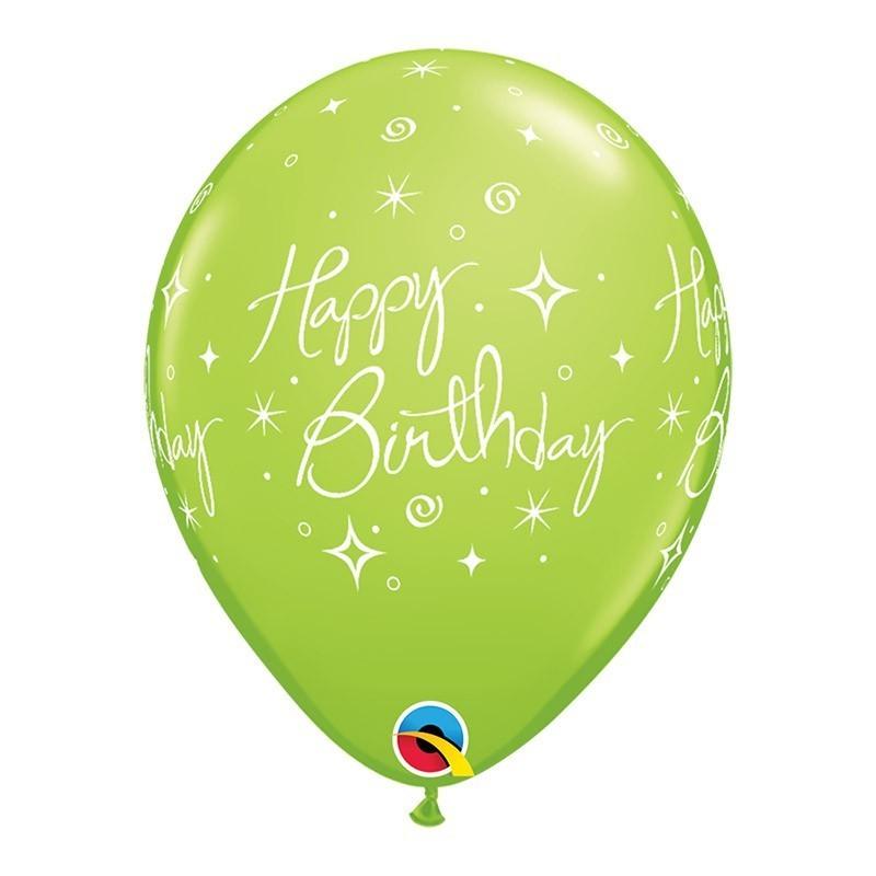 Happy birthday - 4 boje