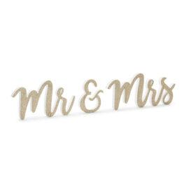Drvena slova Mr & Mrs - 50cm