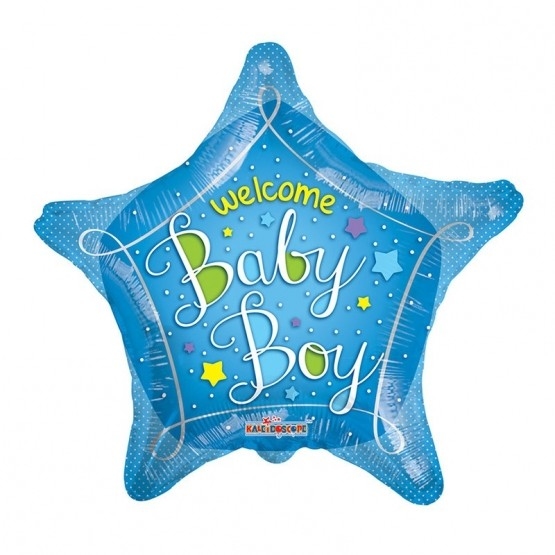 Welcome baby boy - 46cm