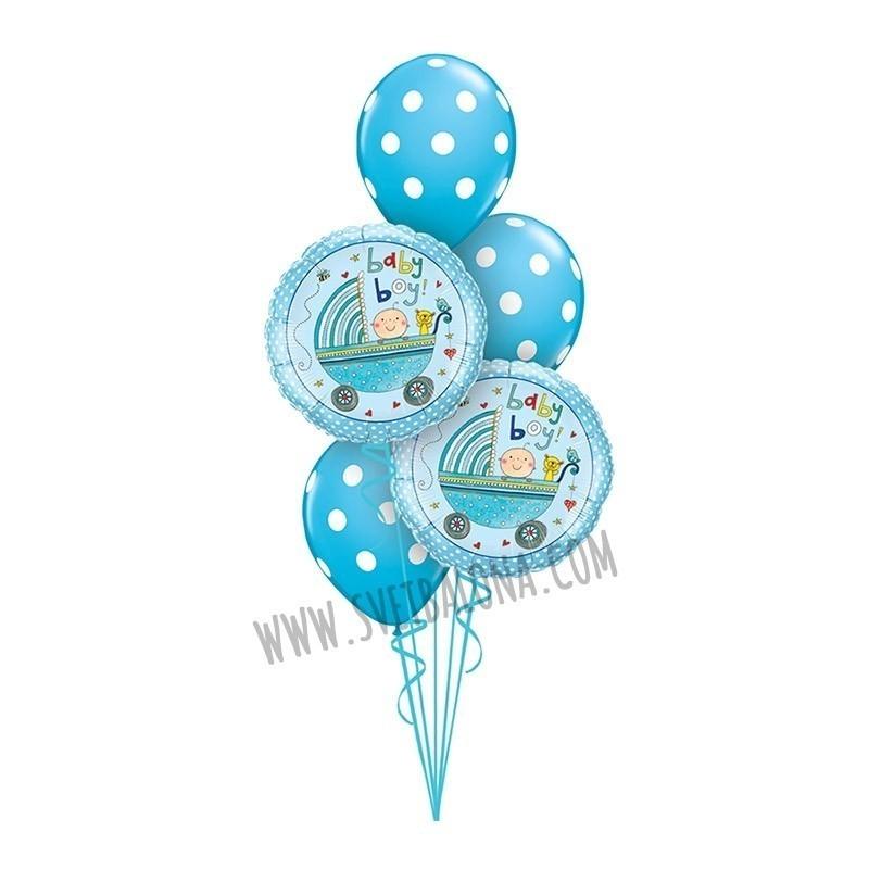 Buket za rođenje deteta 25