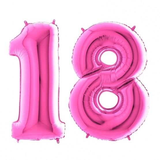 18. rođendan - ciklama - 101cm
