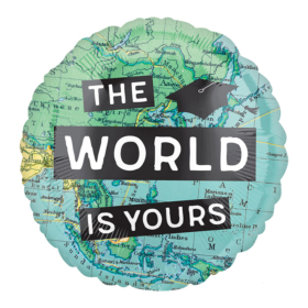 The world is yours - 46cm