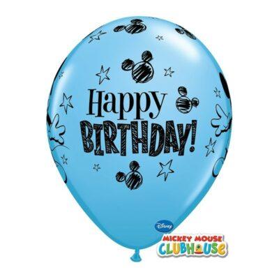 Happy birthday - 3 boje - 28cm