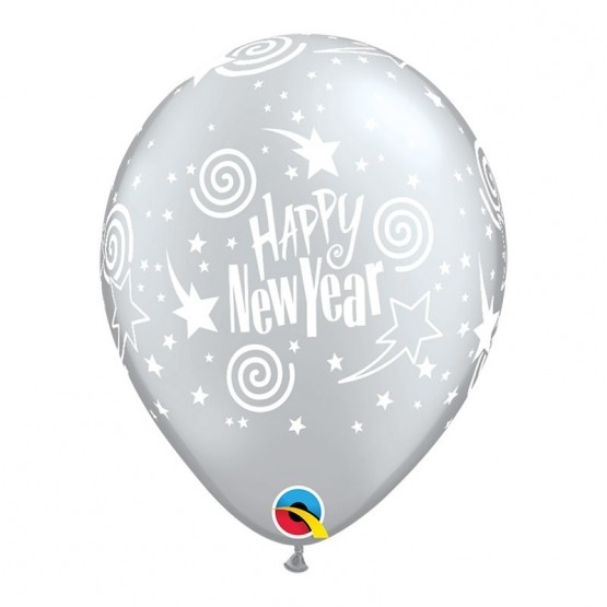 Happy New Year - 3 boje - 28cm