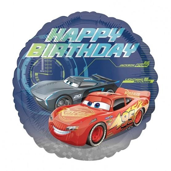 Cars Happy Birthday- 46cm