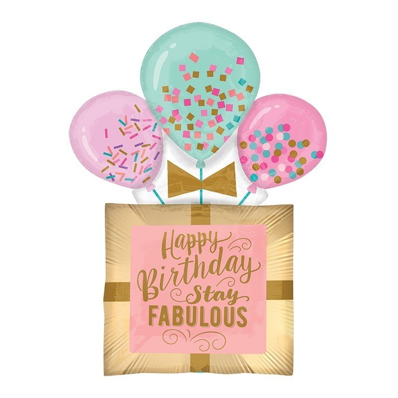 Happy birthday stay fabulous - 81cm