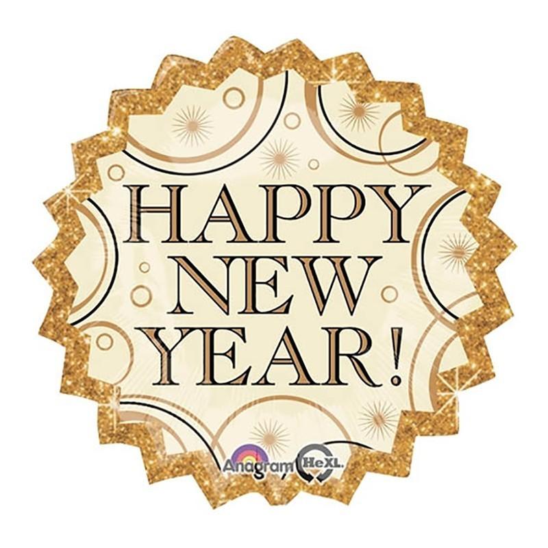 Happy New Year - 46cm