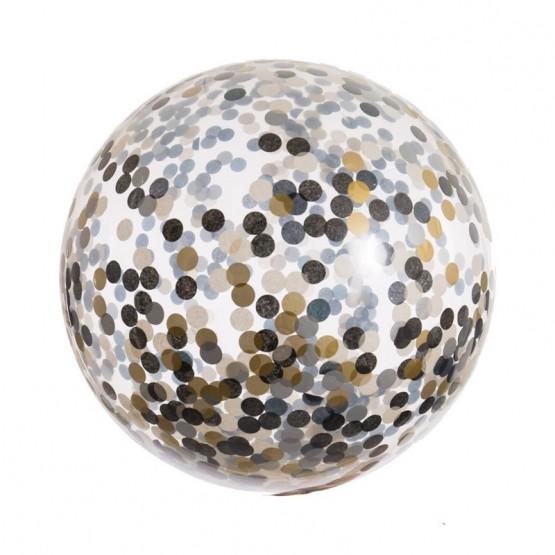 Balon sa konfetama - 70cm
