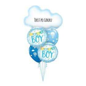 Buket za rođenje dečaka 2