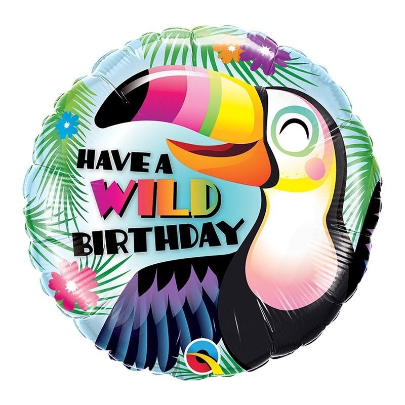 Have a wild birthday - 46cm