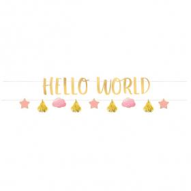 Baner Hello World - 177cm