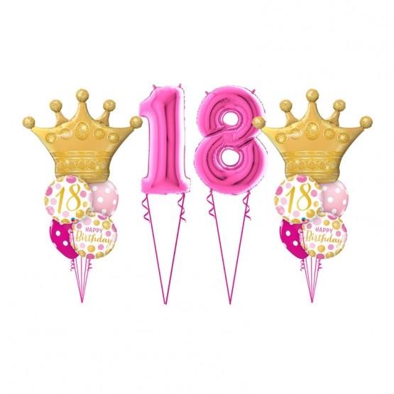 Dekoracija za 18. rođendan