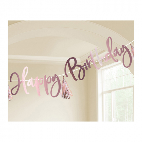 Baner Happy Birthday - 2.74m