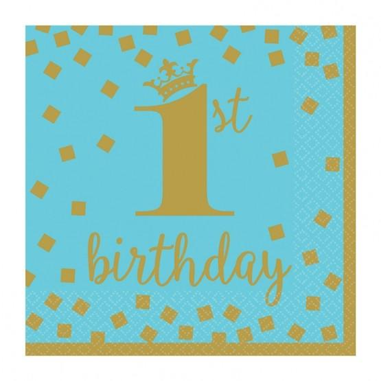 Baner Happy 1st birthday - 213cm