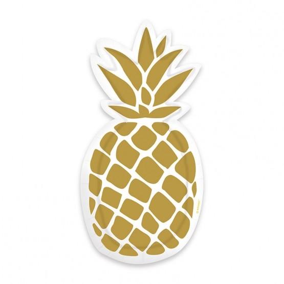 Tanjiri ananas 24cm - 6 kom