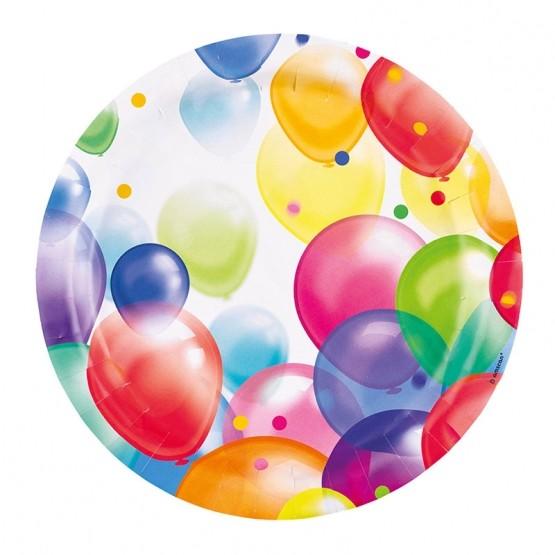 Tanjiri baloni  23cm - 8 kom