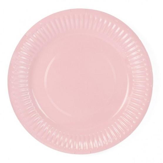 Tanjiri blebi roze 18cm - 6 kom