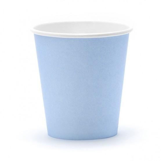 Čaše bledo plave 180ml - 6 kom