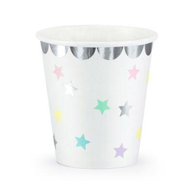 Čaše zvezdice 180ml - 6 kom