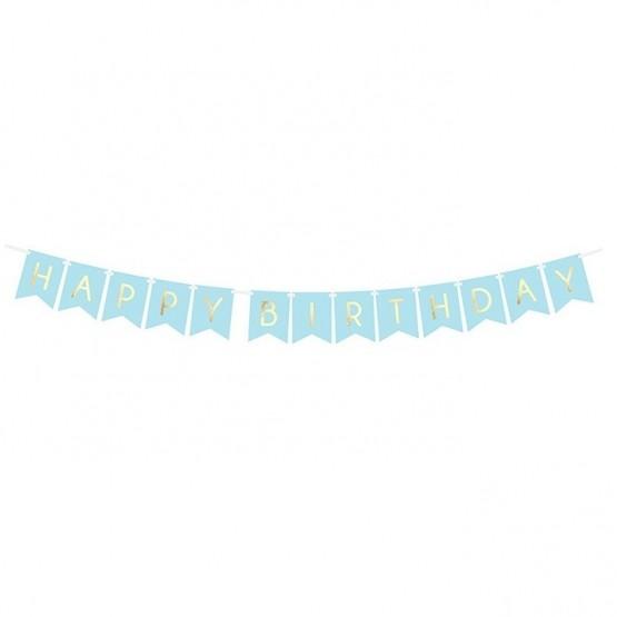 Baner Happy birthday - 175cm