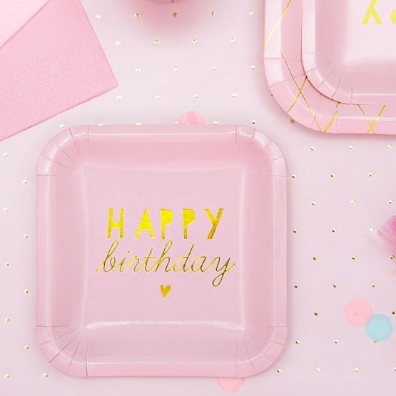 Tanjiri Happy birthday 14cm - 6 kom