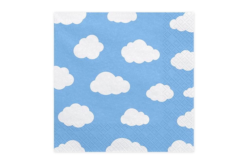 Salvete oblaci 33cm - 20 kom