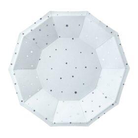 Tanjiri srebrne zvezdice 18cm - 6 kom