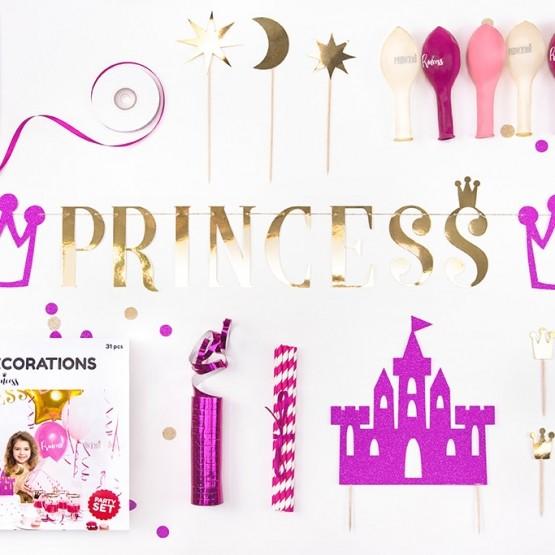 Princess - Dekoracija za žurku 1/31