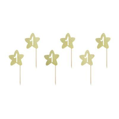 Toperi za mafine zvezdice - 6 kom