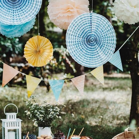 Dekorativne rozete Summer time - 3 kom