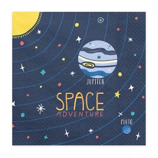 Salvete Space party 33cm - 20 kom