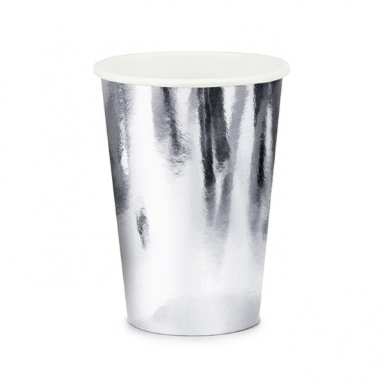 Čaše srebrne 220ml - 6 kom