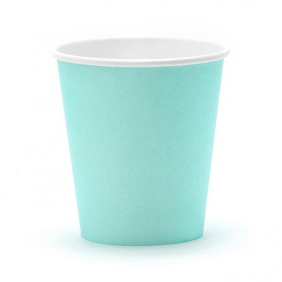 Čaše tirkiz 180ml - 6 kom